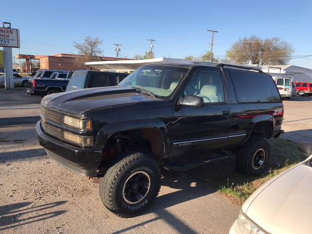 1997 Chevrolet Tahoe for sale at MADISON MOTORS in Bethany OK
