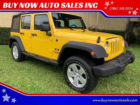 2009 Jeep Wrangler Unlimited for sale in Miami, FL
