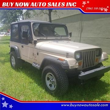 1993 Jeep Wrangler for sale in Miami, FL