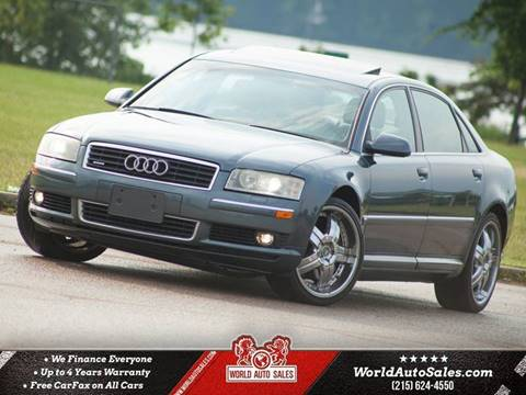 2004 Audi A8 L for sale in Philadelphia, PA
