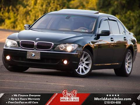 2006 BMW 7 Series for sale in Philadelphia, PA