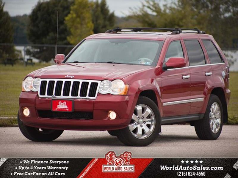 2010 Jeep Grand Cherokee For Sale At World Auto Sales In Philadelphia PA
