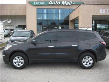 2013 Chevrolet Traverse for sale at Raytown Auto Mall Enterprise in Raytown MO