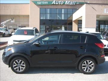 2014 Kia Sportage for sale at Raytown Auto Mall Enterprise in Raytown MO