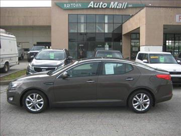 2012 Kia Optima for sale at Raytown Auto Mall Enterprise in Raytown MO