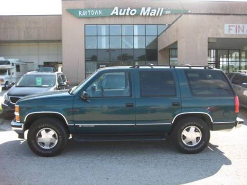 1998 Chevrolet Tahoe for sale at Raytown Auto Mall Enterprise in Raytown MO
