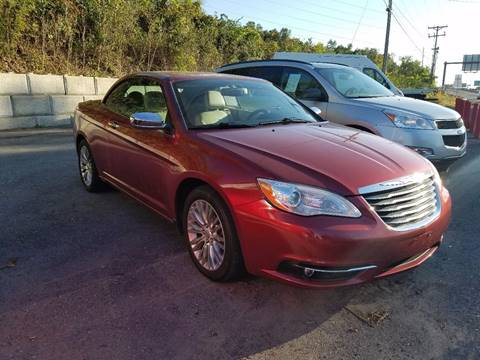 2012 Chrysler 200 Convertible for sale in Reading, PA