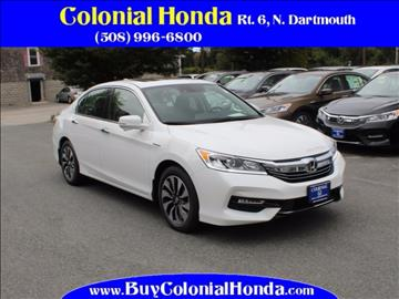 2017 Honda Accord Hybrid for sale in North Dartmouth, MA
