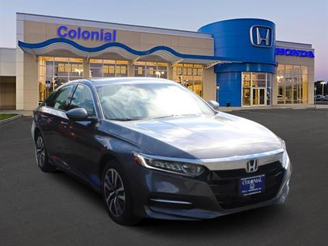 2018 Honda Accord Hybrid for sale in North Dartmouth, MA