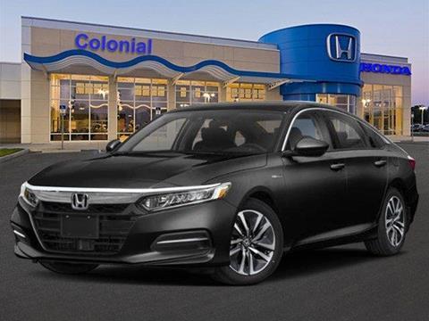 2019 Honda Accord Hybrid for sale in North Dartmouth, MA