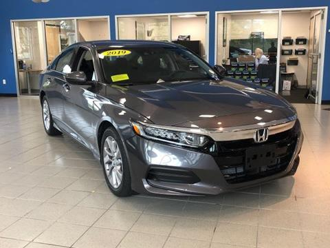 2019 Honda Accord for sale in North Dartmouth, MA