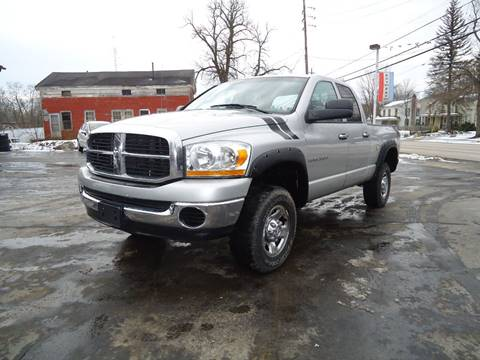 2006 Dodge Ram Pickup 2500 for sale in Rock Creek, OH