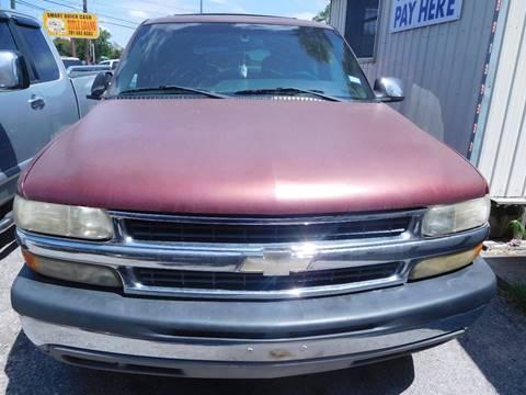 2001 Chevrolet Tahoe for sale in Rosenberg, TX