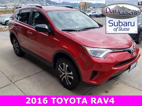 2016 Toyota RAV4 for sale in Butte MT