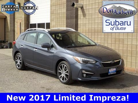 2017 Subaru Impreza for sale in Butte, MT