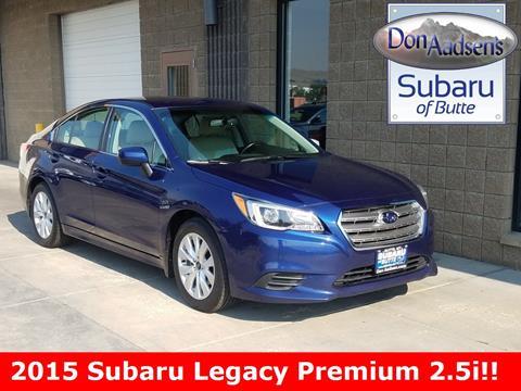 2015 Subaru Legacy for sale in Butte, MT