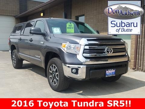 2016 Toyota Tundra for sale in Butte MT