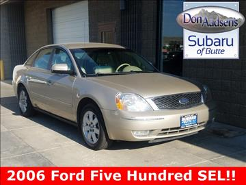2006 Ford Five Hundred for sale in Butte, MT
