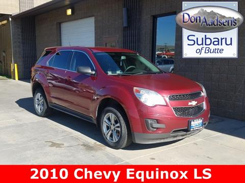 2010 Chevrolet Equinox for sale in Butte, MT
