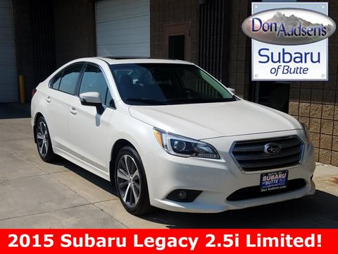 2015 Subaru Legacy for sale in Butte, MT