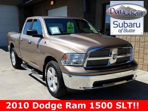 2010 Dodge Ram Pickup 1500 for sale in Butte MT