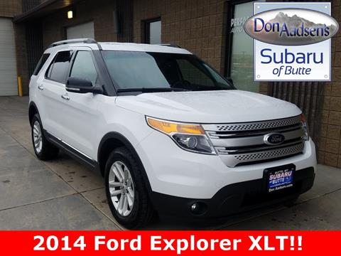 2014 Ford Explorer for sale in Butte, MT