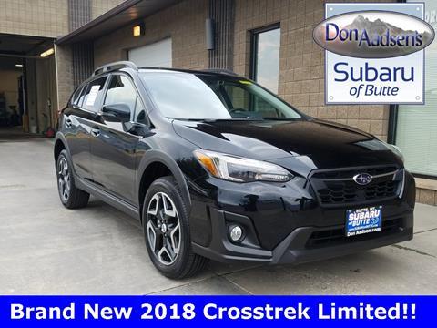 2018 Subaru Crosstrek for sale in Butte MT