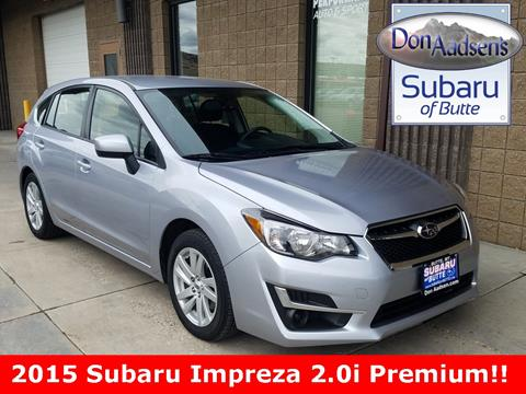2015 Subaru Impreza for sale in Butte, MT