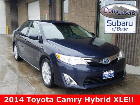 2014 Toyota Camry Hybrid for sale in Butte, MT