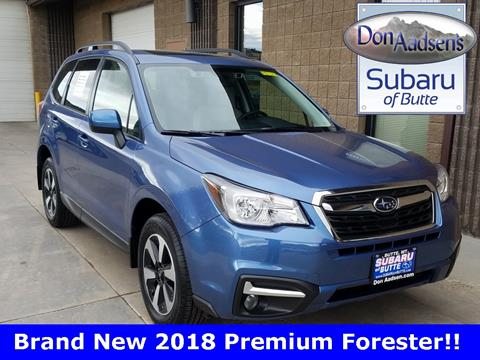 2018 Subaru Forester for sale in Butte, MT