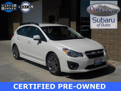 2014 Subaru Impreza for sale in Butte, MT