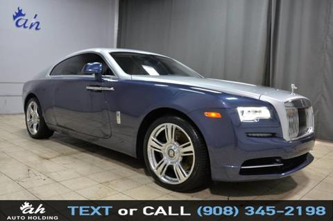 used rolls-royce wraith for sale in new jersey - carsforsale®