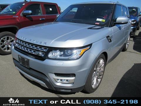 2016 Land Rover Range Rover Sport for sale in Hillside, NJ
