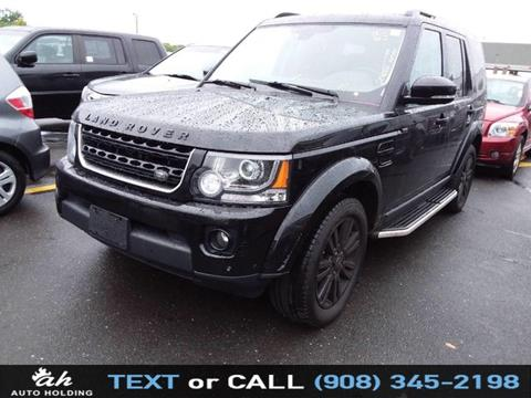 2015 Land Rover LR4 for sale in Hillside, NJ