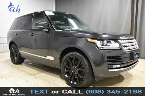 2014 Land Rover Range Rover for sale in Hillside, NJ