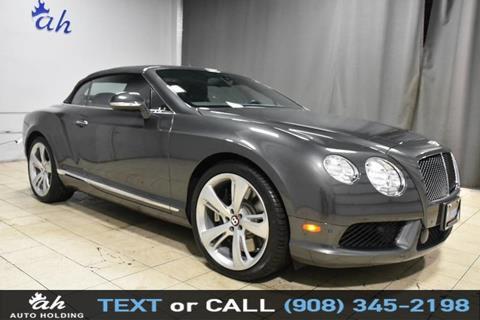 2015 Bentley Continental for sale in Hillside, NJ