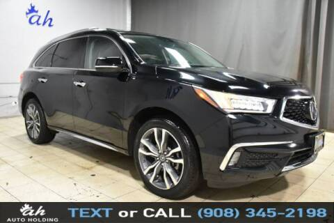 2019 Acura MDX for sale at AUTO HOLDING in Hillside NJ