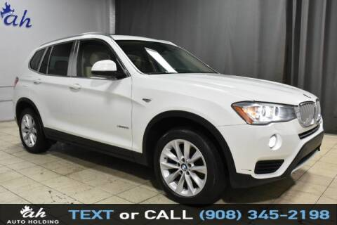 2016 BMW X3 for sale at AUTO HOLDING in Hillside NJ