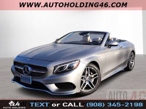 2017 Mercedes-Benz S-Class S 550 for sale at AUTO HOLDING in Hillside NJ