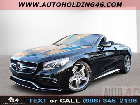 2017 Mercedes-Benz S-Class AMG S 63 for sale at AUTO HOLDING in Hillside NJ