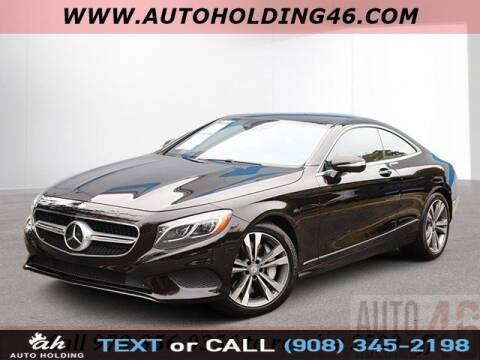 2016 Mercedes-Benz S-Class S 550 4MATIC for sale at AUTO HOLDING in Hillside NJ