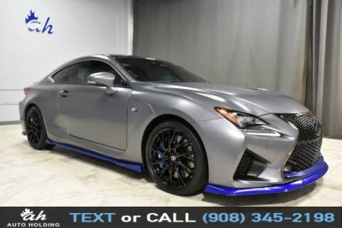 2019 Lexus RC F for sale at AUTO HOLDING in Hillside NJ