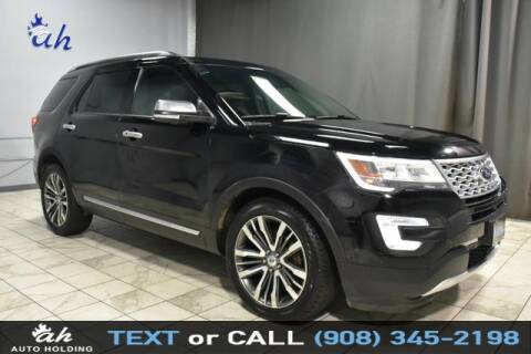 2017 Ford Explorer for sale at AUTO HOLDING in Hillside NJ