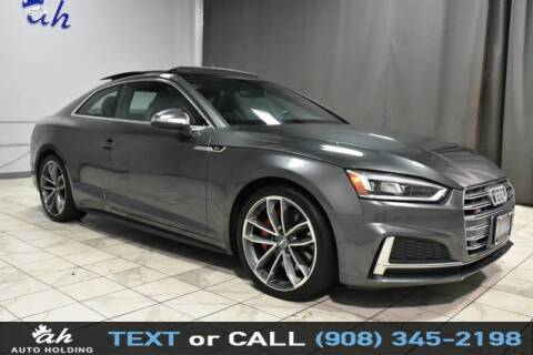 2018 Audi S5 for sale at AUTO HOLDING in Hillside NJ