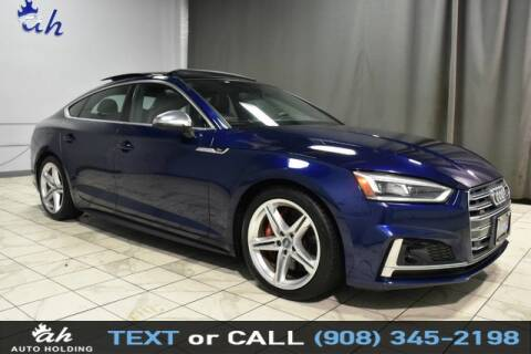 2018 Audi S5 Sportback for sale at AUTO HOLDING in Hillside NJ