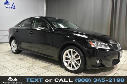 2012 Lexus IS 250 for sale at AUTO HOLDING in Hillside NJ