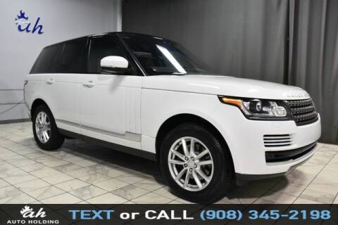2017 Land Rover Range Rover for sale at AUTO HOLDING in Hillside NJ