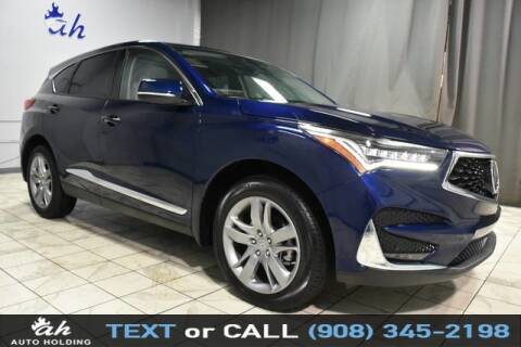 2020 Acura RDX for sale at AUTO HOLDING in Hillside NJ