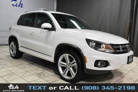 2016 Volkswagen Tiguan for sale at AUTO HOLDING in Hillside NJ