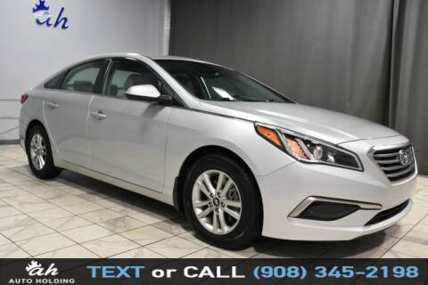 2017 Hyundai Sonata for sale at AUTO HOLDING in Hillside NJ